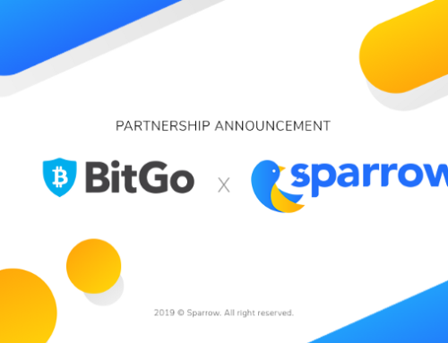 Sparrow teams up with leading custodian BitGo to safeguard users' assets
