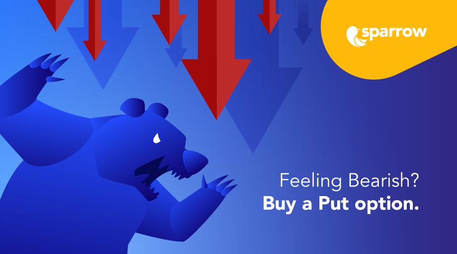 Feeling bearish? Buy a Put option.