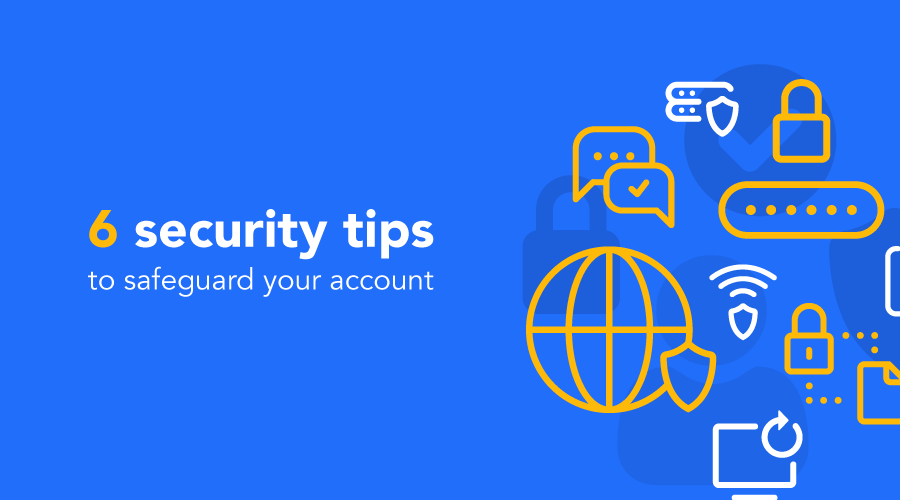 6 security tips to safeguard your Sparrow account